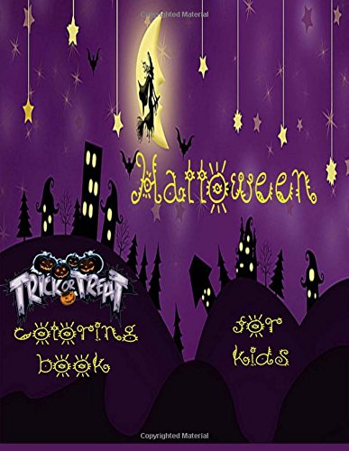 Halloween Coloring book for Kids: Halloween coloring for kids , preschool , toddler , trick or treat theme