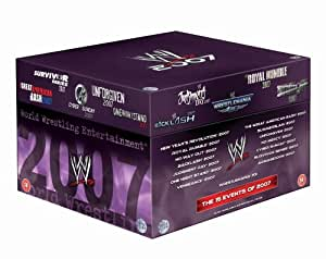 wwe 2007 pay per view collection