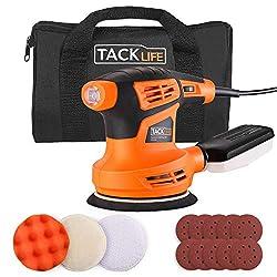 Tacklife-Un gruppo professionale su Amazon, si occupa solo degli strumenti, ci impegniamo ad utilizzare strumenti eccellenti per migliorare la qualità di vita    Necessario per La Tua Collezione fai-da-te   Tacklife PRS02A Levigatrice orbitale è uti...