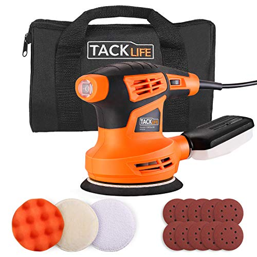 TACKLIFE Ponceuse Excentrique, 6 Vitesses Variables,...