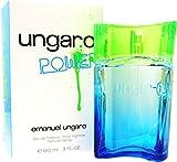 Ungaro Power 90ml di fragranza da uomo, eau de toilette spray per lui con sacchetto regalo