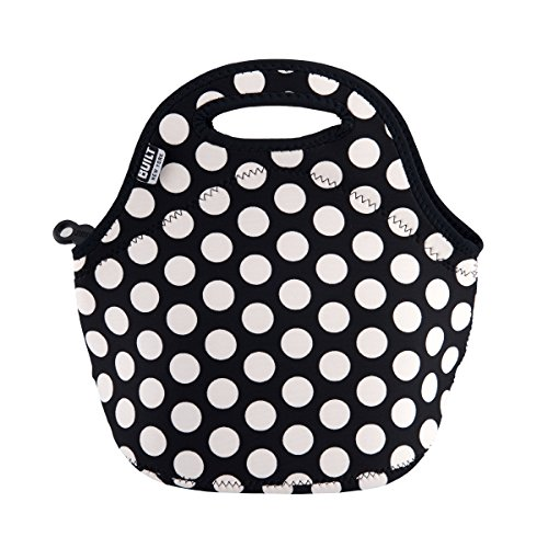 creative-tops-black-white-spots-built-ny-gourmet-getaway-neoprene-lunch-tote-bag