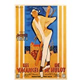 Mr. Hulot's Holiday Plakat Movie Poster (27 x 40 Inches - 69cm x 102cm) (1953) French