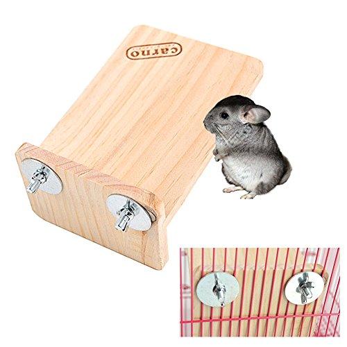 (Small Pet Käfig aus Holz Plattform Regal Ständer Board Totoro Toys Supplies Chinchilla Jumping Plattform Holz Eichhörnchen SPRINGBOARD Hamster Spielzeug Kleine Haustiere Board für kleine Tiere Chinchillas Eichhörnchen Hamster Syrische Hamster und andere kleine Haustiere)