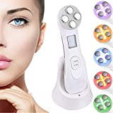 Ultrasonic beauty device,High Frequency Facial Machine&5in1 Ultrasonic Red LED Light theragy And 6