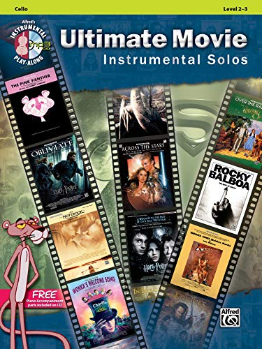 Ultimate Movie Instrumental Solos for Strings: Cello (Pop Instrumental Solo) (Alfred's Instrumental Play-Along) (Alfred Publishing Company)
