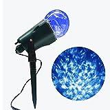 Lámpara de proyección de llama Lámpara de proyección LED Magical Stage Luz...