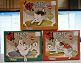 Okami noodle stopper figure Petit all three sets