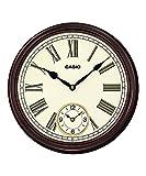 Casio Round Wood Analog Wall Clock (36 x...
