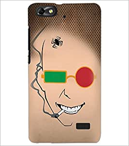 Printdhaba Funny Sketch D-4489 Back Case Cover For Huawei Honor 4C