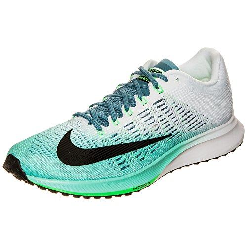 Smokey Schwarz Schuhe (Nike Damen WMNS AIR Zoom Elite 9 Laufschuhe, Mehrfarbig (Hyper Turquoise/Black/White/Smokey), 37.5 EU)