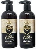 x2 By My Beard- Beard Shampoo Wash Men's Moustache Grooming Care Facial Hair