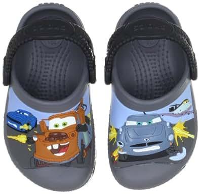 Crocs Creative Mater & Finn Mcmissle, Unisex-Child Clogs, Charcoal/Black, 2 UK