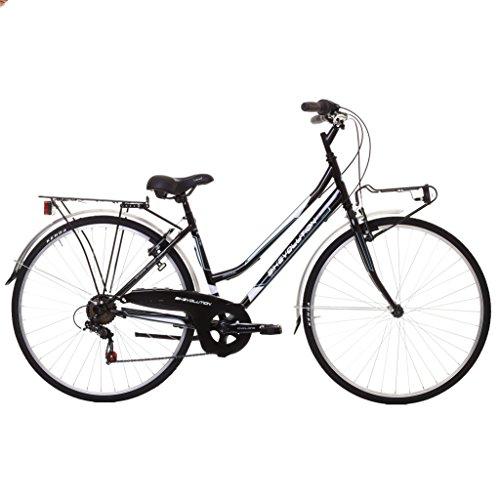 Bikevolution Velo De Ville 28 Pour Femme 6 V