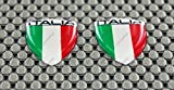3D-Aufkleber mit Mini-Emblem Italien-Flagge
