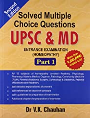 Solved Multiple Choice Questions UPSC & M.D. Entrance Examinatio