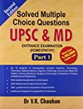 #10: Solved Multiple Choice Questions UPSC & M.D. Entrance Examination: 1