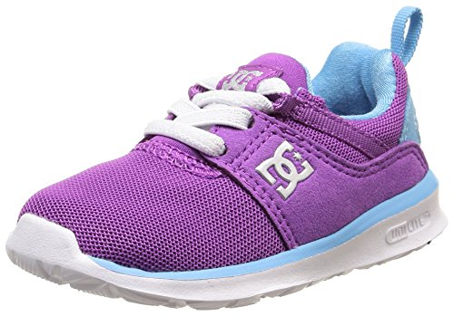 DC Shoes Heathrow T, Chaussures Bébé Marche Bébé Fille