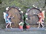Home Garden Best Deals - Set of 2 Sparkle Fairy Door Garden Home Ornament