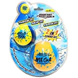 """Wave Runner Skipping Speed Duo Set Water Skipping Bouncing Balls Mega Ball & Pool Ball Toys Ages 6+ """"Two Water Balls for The"""
