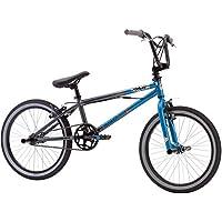 20 Mongoose Mode 100 Boys' BMX Outdoor Bike, Blue/Gray by Mongoose - Mongoose Bmx Bike