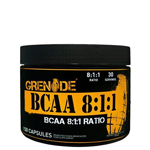 Grenade BCAA 8:1:1 (150 Caps) Standard, 135 g (Standard-prozess-energie)