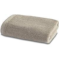 Biancheria da Bagno in Bambù - 1 x Asciugamani Per il Viso di Lusso in Bambù - 600gsm - Latte - 30cm x 30cm