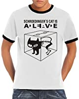 Touchlines T-shirt Schroedingers Cat Is Alive pour homme