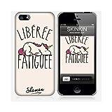 Coque iPhone 5 et 5S de chez Skinkin - Design original : Libérée par Shaman
