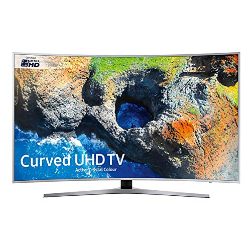 Samsung UE65MU9000TXXU 65-Inch Ultra HD Smart Curved LED TV - Black