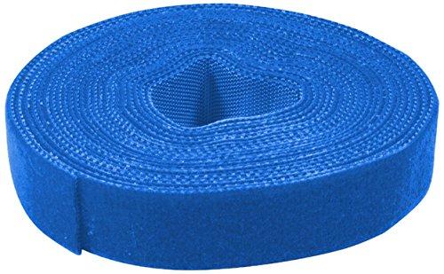 logilink-kab0053-cable-tie-con-correa-de-velcro-4-m-azul