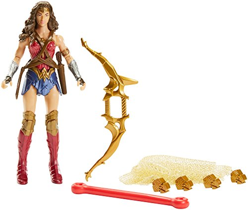 Justice League Superhéores Figura básica Wonder Woman, 15 cm (Mattel FNY54)