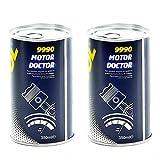 MANNOL 2 x Antiverschleiß Motoröl Additiv 9990 350ml Motor Zusatz Ölzusatz