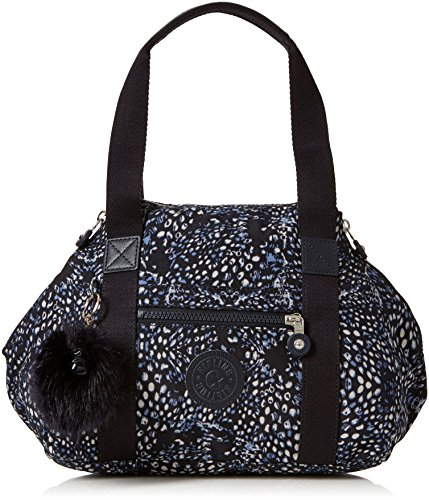 Kipling Damen Art Mini Henkeltasche, Mehrfarbig (Soft Feather), 34x21x18.5 cm -