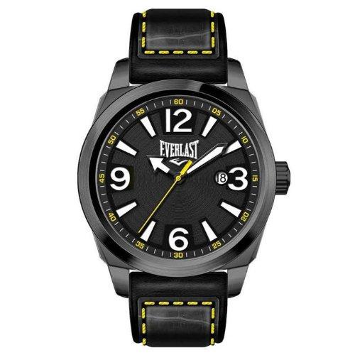 bernex-ev-215-004-reloj-analogico-para-caballero-de-cuero-resistente-al-agua-gris