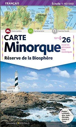 Descargar Libro MINORQUE, RESERVE DE LA BIOSPHERE  1/50.000 de Collectif