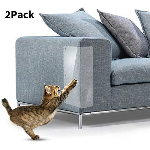 Legendog 2 Stücke Möbelverteidiger Transparenter Möbelschutz Couch Verteidiger (Couch Pet-abdeckung)
