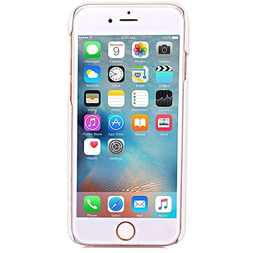 Wkae Case Cover Hard Cover Échelle Motif Hard Cover Case Avec fente pour carte pour Apple iPhone 6s ( Color : Rose Red , Size : Iphone6s ) White