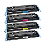 4 Toner kompatibel für Canon Catridge 707 I-Sensys LBP 5000 5100 Lasershot LBP 5000 - 9421A004-9424A004 - je 2500 Seiten