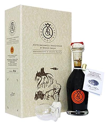 Aceto Balsamico Tradizionale di Reggio Emilia D.O.P. ARAGOSTA mind. 12 Jahre gereift in Geschenkbox