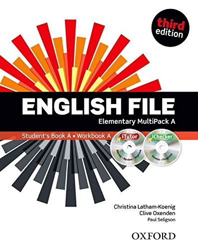 English File third edition: English File 3rd Edition Elementary. Split Edition MultiPack a with iTutor and iChecker