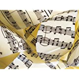 Transferfolie Musical Notes