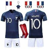 SUXMAN Maillots de Football Hommes Enfants T-Shirt 2 Étoiles Football