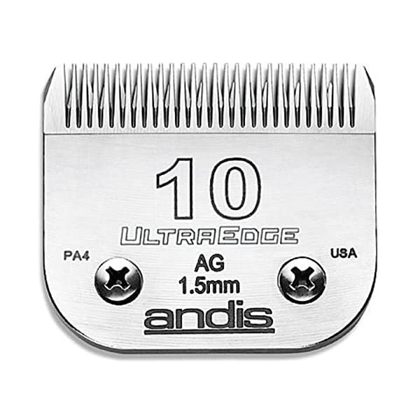 Andis AGC Super 2 Speed Dog Grooming Clipper with Blades, 10 and 7 FC 3