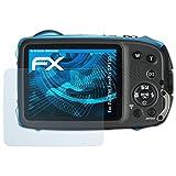 atFoliX Displayschutzfolie für Fujifilm FinePix XP130 Schutzfolie - 3 x FX-Clear kristallklare Folie