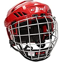 CCM Fitlite 40 Helm Combo Senior, Größe:L;Farbe:rot
