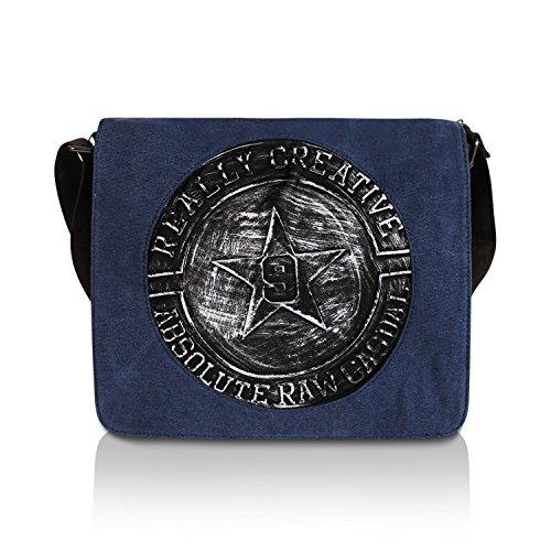 16b24e546c861 Glamexx24 Tasche Handtaschen Schultertasche Umhängetasche mit Stern Muster  Tragetasche TE201620 23117a2 Blau