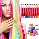 TAOtTAO colorati usa e getta capelli color pastello gesso atossico Root Hair stick