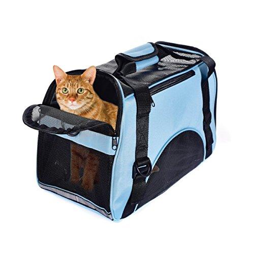PETCUTE Bolsa de Transportín para Perros Transportín Plegable para Perro Portador del Mascota