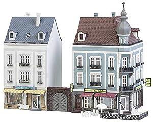 Faller FA 232387-2Ciudad Casas Bancal Hoven Calle, Accesorios para el diseño de ferrocarril, Modelo